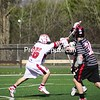 Wednesday, April 14, 2010. Plattsburgh State vs. Oneonta in Plattsburgh.  Oneonta won 12-9.<br><br>(P-R Photo/Andrew Wyatt)
