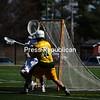 Saturday, April 10, 2010. Plattsburgh State vs. SUNY Brockport in Plattsburgh.  PSUC won 16-15.<br><br>(P-R Photo/Andrew Wyatt)