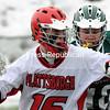 Thursday, March 13, 2008. Plattsburgh State vs. Castleton State College at the Plattsburgh State Field House.  Plattsburgh won 24-2.<br><br>(Staff Photo/Michael Betts)