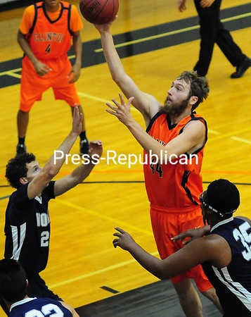Tuesday, November 4, 2014. Clinton Community College men play Word of Life men Monday during men's basketball in Plattsburgh. <br /><br />(P-R Photo/Rob Fountain)