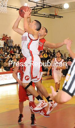 Tuesday, November 29, 2011. Plattsburgh State vs. St. Lawrence University in Plattsburgh.  PSU won 58-54. <br /><br />(P-R Photo/Rob Fountain)