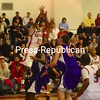 Tuesday, February 23, 2010. Plattsburgh State vs. New Paltz in Plattsburgh.  Plattsburgh State won 78-74.<br><br>(Staff Photo/Kelli Catana)