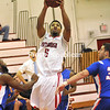 Friday, January 18, 2013. The Cardinals captured a 75-70 victory against New Patlz in Friday's SUNY Athletic Conference matchup. <br /><br />(P-R Photo/Rob Fountain)