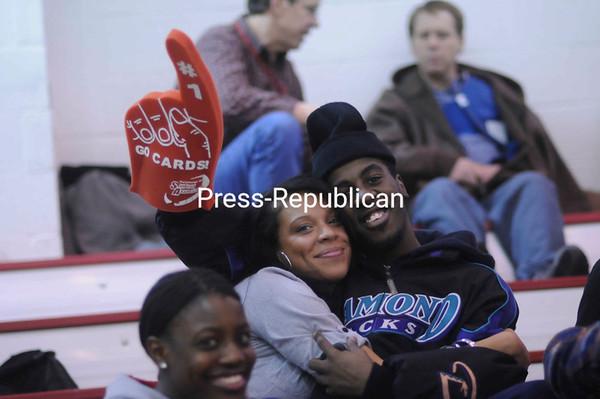 Friday, January 21, 2011. Plattsburgh State vs. Fredonia in Plattsburgh.  PSU won 64-58.<br><br>(P-R Photo/Andrew Wyatt)