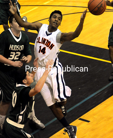 Monday, November 21, 2011. Clinton Community College vs. Hudson Valley Community College in Plattsburgh.  Hudson won 74-55. <br /><br />(P-R Photo/Rob Fountain)