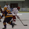 Sunday, January 9, 2011. Plattsburgh State vs. Elmira at the Plattsburgh State Field House.  The teams tied 2-2.<br><br>(P-R Photo/Gabe Dickens)