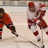 Friday, February 1, 2008. Plattsburgh State vs. Buffalo State at the Plattsburgh State Field House.  Plattsburgh won 5-2.<br><br>(P-R Photo/Kelli Catana)