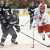 Friday, January 21, 2011. Plattsburgh State vs. Geneseo at the Plattsburgh State Field House.  PSU won 4-2.<br><br>(P-R Photo/Andrew Wyatt)
