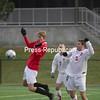 Friday, November 6, 2009. Plattsburgh State vs. Oneonta in Plattsburgh.  Plattsburgh won 1-0.<br><br>(P-R Photo/Jennifer Stiles)