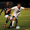Wednesday, September 7, 2011. Plattsburgh State vs. Norwich University in Plattsburgh.  Plattsburgh State won 2-0.<br><br>(P-R Photo/Rob Fountain)