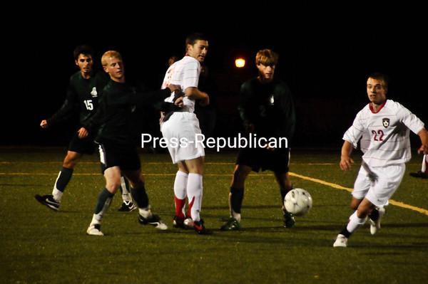 Wednesday, September 15, 2010. Plattsburgh State vs. Castleton State at the Plattsburgh State Field House. PSU won 1-0.<br><br>(P-R Photo/Andrew Wyatt)