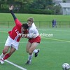 Saturday, October 3, 2009. Plattsburgh State vs. Cortland State in Plattsburgh.  Plattsburgh won 2-1.<br><br>(P-R Photo/Jennifer Stiles)