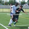 Sunday, September 1, 2013. Clinton Community College men's soccer vs. Paul Smiths College Sunday at the SUNY Plattsburgh Field House. <br /><br />(P-R Photo/RACHEL MOORE)