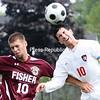 Saturday, September 13, 2008. Plattsburgh State vf. St. John Fisher in Plattsburgh.  Plattsburgh State won 7-1.<br><br>(Staff Photo/Michael Betts)