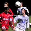 Wednesday, October 24, 2012. The Cardinals and Saints battled to a scoreless tie in Wednesday's men's college soccer game.  <br /><br />(P-R Photo/Rob Fountain)