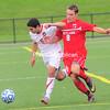 Friday, September 30, 2011. Plattsburgh State vs. Cortland University in Plattsburgh. PSU won 3-0.<br><br>(P-R Photo/Rob Fountain)