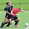 Wednesday, August 24, 2011. Plattsburgh State vs. the University of Montreal in Plattsburgh.<br><br>(P-R Photo/Rob Fountain)