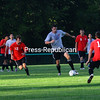 Monday, August 22, 2011. Plattsburgh State Red & White game at Chazy High School.<br><br>(Staff Photo/Kelli Catana)