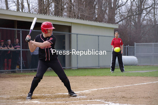 Monday, April 25, 2011. St. Lawrence University vs. Plattsburgh State at Cardinal Park.  PSU won both games of the doubleheader, 7-0 and 8-4.<br><br>(P-R Photo/Rob Mason)