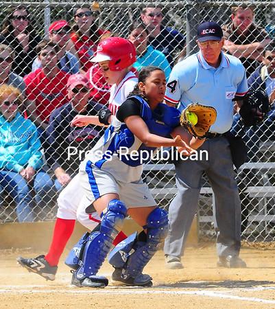 Saturday, April 26, 2008. Plattsburgh State vs. SUNY-IT in Plattsburgh.  Plattsburgh State won both games of the doubleheader 8-0, 8-0. <br><br>(Staff Photo/Rob Fountain)