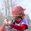 Tuesday, April 14, 2009. Plattsburgh State vs. Morrisville in Plattsburgh.  PSUC won both games of the double header 8-1 and 8-1.<br><br>(Staff Photo/Michael Betts)