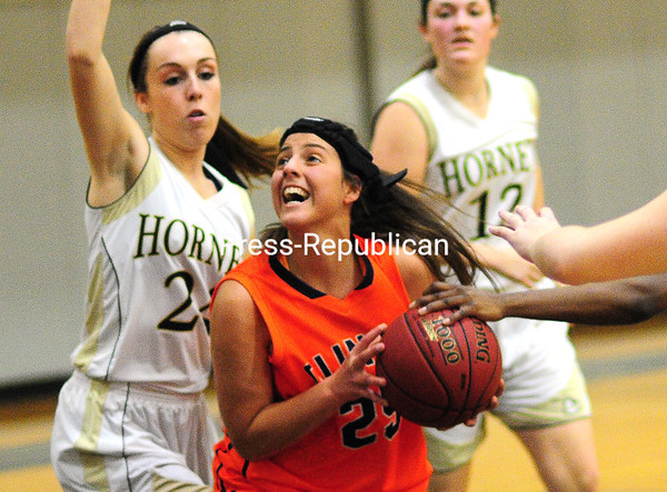 Monday, November 24, 2014. Clinton Community College plays SUNY Broome Sunday in women's basketball in Plattbsurgh. <br /><br />(P-R Photo/Rob Fountain)