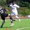Sunday, October 12, 2014. Clinton Community College plays Broome Community College in men's soccer Sunday at SUNY Plattsburgh's Field house. <br /><br />(P-R Photo/Rob Fountain)
