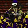 Sunday, March 7, 2010. Plattsburgh State vs. Elmira in Plattsburgh.  Elmira won 4-2 winning the ECAC West championship.<br><br>(P-R Photo/Gabe Dickens)