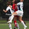 Sunday, September 4, 2011. Plattsburgh state vs. Endicott College in Plattsburgh. Plattsburgh won 2-0.<br><br>(P-R Photo/Gabe Dickens)
