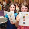 "Saturday, June 1, 2013. Peru Elementary third-grade students participate in the ""Fiesta Reader's Café"" Friday afternoon at Peru Elementary School. The special event, a collaboration between Mrs. Petro's and Mrs. Osborne's third grade classes, featured a classroom turned into a Mexican café, complete with third grade students seating and waiting on the Kindergartners, and offering them a menu where they could choose among age-appropriate books that would be read to each table while they enjoyed a snack. The café provided a fun way to promote literacy and an appreciation for reading in a real-world context. (P-R Photo/Gabe Dickens) <br /><br />(P-R Photo/Gabe Dickens)"