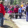 Sunday, April 19, 2009. Ove 1,000 people participated in the Autism Awareness Walk at the PARC Oval.  The event raised more than $24,000.<br><br>(P-R Photo/Rachel Moore)