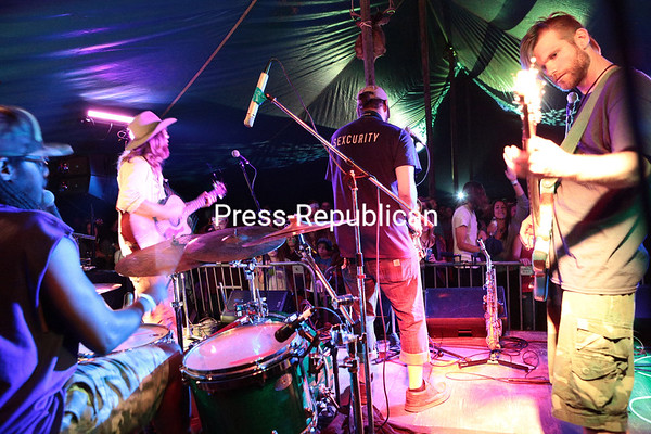 Monday, August 11, 2014. The annual Backwoods Pondfest Music Festival took place Friday and Saturday at Twin Ponds Campsite in Peru featuring more the 20 bands, demonstrations and other live entertainment. <br /><br />(P-R Photo/Gabe Dickens)