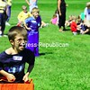 Tuesday, June 23, 2009. Annual field day at Bailey Aveneue School in Plattsburgh.  The day marks the end of the school year.<br><br>(Staff Photo/Kelli Catana)