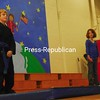 Saturday, June 20, 2009. Second-grade students from Plattsburgh's Bailey Avenue Elementary School at  their end of the year talent show. The kids shared their skill in singing, dancing, hoola-hooping, gymnastics, karate and cooking as a final farewell to their primary school.  <br><br>(P-R Photo/Rachel Moore)