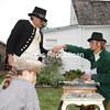 Sunday, September 12, 2010. Battle of Plattsburgh reenactment at the Champlain Monument in Plattsburgh.<br><br>(P-R Photo/Gabe Dickens)