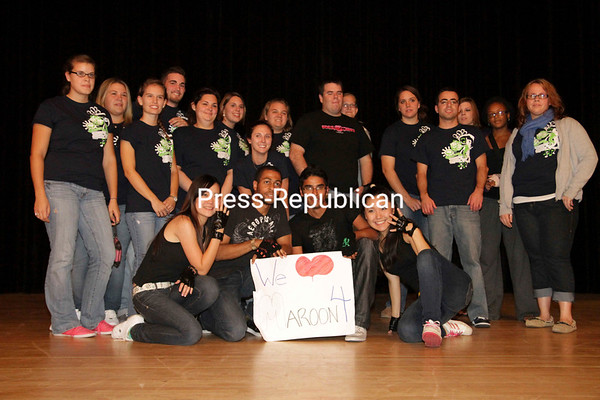 Wednesday, October 6, 2010. Plattsburgh's Best Dance Crew Season 2 competition Tuesday evening in Hawkins Hall. The event was sponsored by the Student Association's Activities Coordination Board<br><br>(P-R Photo/Gabe Dickens)
