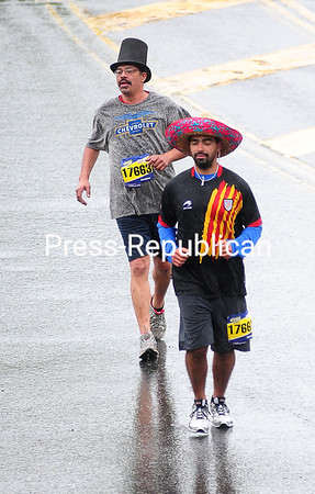 Runners took to Plattsburgh's streets Sunday for the Biggest Loser Run/Walk. Photos by P-R Staff Photographer Rob Fountain.