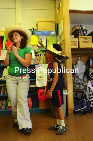 Tuesday, May 5, 2009. Third-Grade students at Beekmantown Elementary School celebrate Cinco de Mayo.<br><br>(Staff Photo/Kelli Catana)