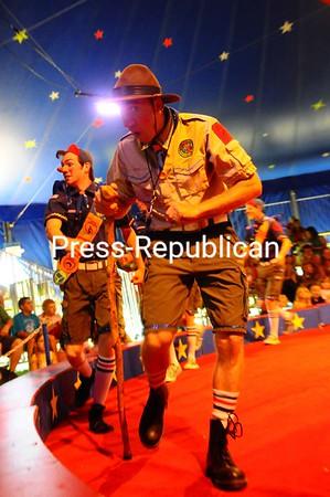 Friday, July 2, 2010. Circus Smirkus show at the Plattsburgh City Beach to benefit the Lake Champlain Transportation Museum.<br><br>(Staff Photo/Kelli Catana)