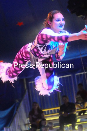 Friday, July 2, 2010. Circus Smirkus show at the Plattsburgh City Beach to benefit the Lake Champlain Transportation Museum.<br><br>(Staff Photo/Kelli Catana)