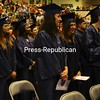 Friday, May 15, 2009. Clinton Community College commencement  in Plattsburgh.  Over 265 students received degrees and certificates.<br><br>(Staff Photo/Kelli Catana)