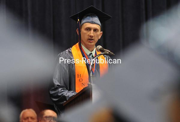 Saturday, May 17, 2014. Clinton Community College Graduation Friday, May 16, 2014 in Plattsburgh. <br /><br />(P-R Photo/Rob Fountain)