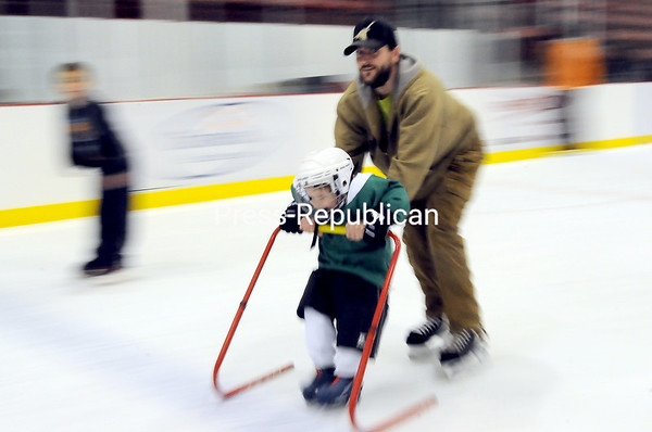 Saturday, January 7, 2012. Public Skating at the Plattsburgh State Field House in Plattsburgh. <br /><br />(P-R Photo/Rob Fountain)