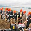 Tuesday, June 15, 2010. Bridge Groundbreaking ceremony in Crown Point.<br><br>(Staff Photo/Kelli Catana)