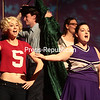 Monday, November 24, 2014. Members of the Clinton Community College Drama Club perform
