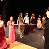 Thursday, December 4, 2014. Members of the Peru Drama Club perform a scene in Charles Dickens' classic