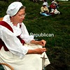 Friday, August 27, 2010. A recent French and Indian War encampment at the Crown Point State Historic Site brought events and lifestyles of 250 years ago into the 21st century.<br><br>(Staff Photo/Alvin Reiner)