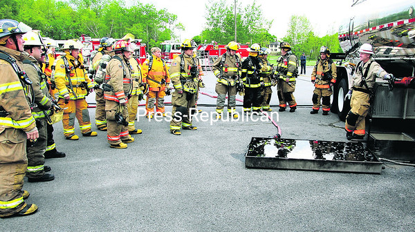 Firefighter ethanol incident training