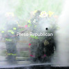 Firefighters use a steady spray of water as a shield so they can move forward.