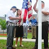 Monday, June 14, 2010. Flag Day ceremony held at Pine Harbour Assisted Living on the Former Plattsburgh Air Force Base.<br><br>(Staff Photo/Kelli Catana)